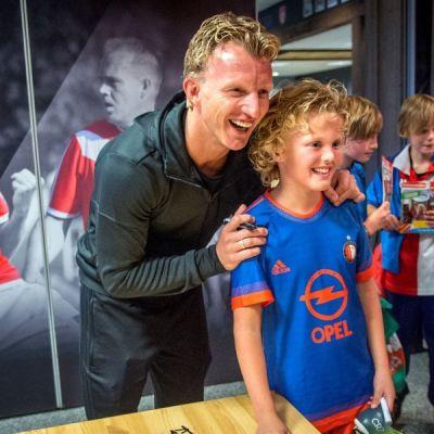 <strong>Dirk Kuijt</strong><br><p>Voetbaler Dirk Kuijt bij Harkemase Boys - Harkema</p>