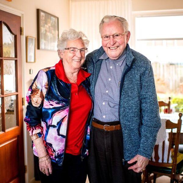 <strong>Jisse en Aagje</strong><br><p>Jisse Dijkstra 92 en Aagje 80 hebben elkaar na het overlijden van hun partner gevonden en leven nu samen - Drachten</p>