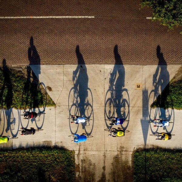 <strong>Pieter Weening Classic</strong><br><p>Tijdens de Pieter Weening Classic fietsten 1300 toerfietsers door de Walden - Rottevalle</p>