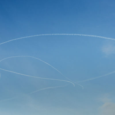 <strong>F-16</strong><br><p>Twee f-16s van de Luchtmacht oefenen boven Friesland</p>