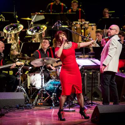 <strong>Valentijns concert</strong><br><p>Concert van brassband de Bazuin uit Oenkerk met zangers Ellen ten Damme</p>