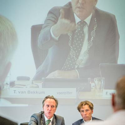<strong>Tjeerd van Bekkum</strong><br><p>De laatste raadsvergadering van de Burgemeester - Drachten</p>